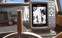 Морской радар с жидкокристаллическим экраном